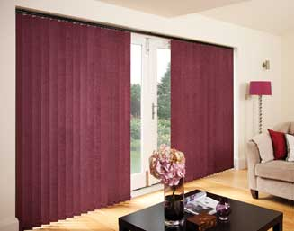 Vertical Blinds perfect for large windows