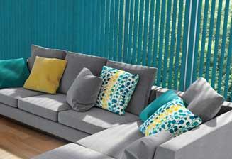 Vertical Blinds Aqua match your home decor